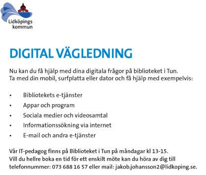 digital vägledning